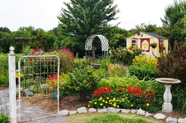Christy's cottage garden