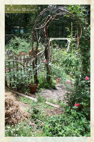 Stephie McCarthy's twig arbor