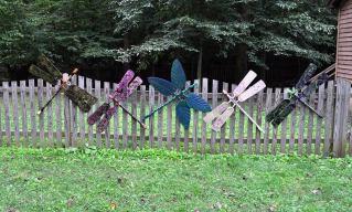 Flewzy Dragonflies by Alison