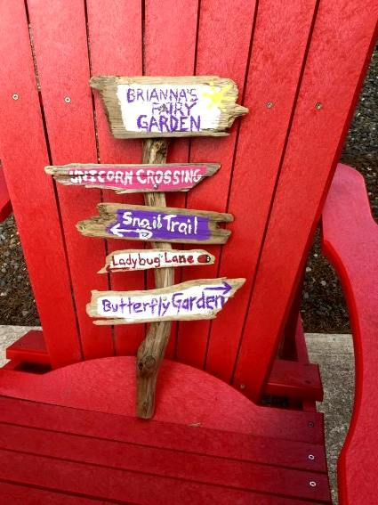 Cheryl Pope Made this yesterday for my daughter's fairy garden