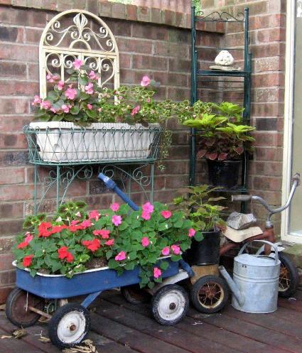 Linda McDonald's entry garden