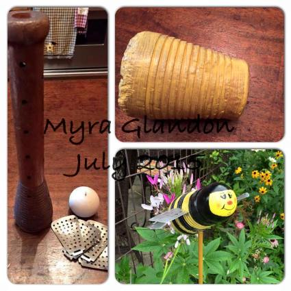 Myra Glandon's bobbin bee