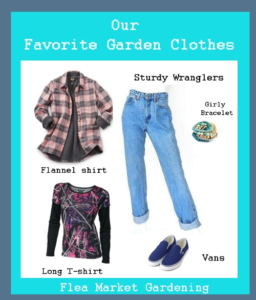 fc947eb12 Perfect gardening clothes. Pin this!