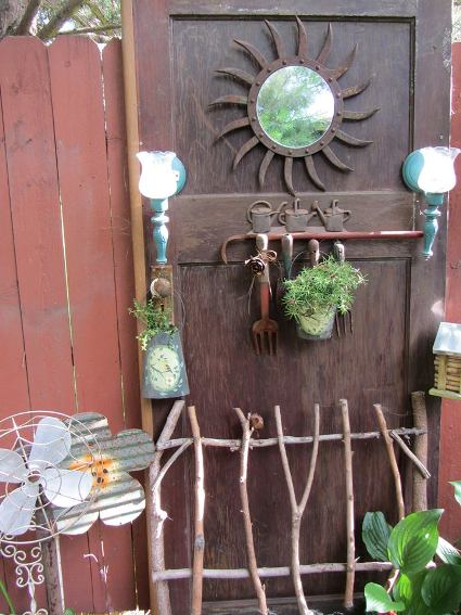 Kenda Hernandez's rustic door