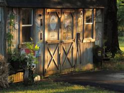 Mick Ofield's shed