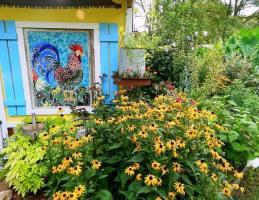 Dandi Gentry's chicken coop garden (27)