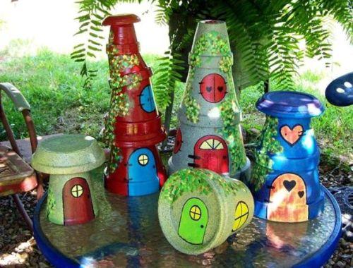 handmade fairy cottages for miniature gardens - Fairy Garden Ideas