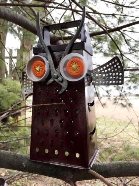 Myra Glandon's Plier-beaked owl
