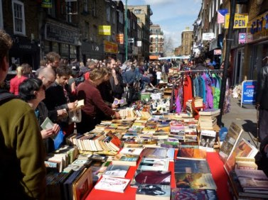 Brick Lane Market flea market