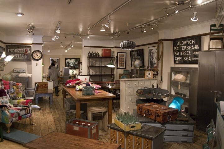Vintage 10 Best Vintage Shops In London Flea Market. Vintage Shop Furniture