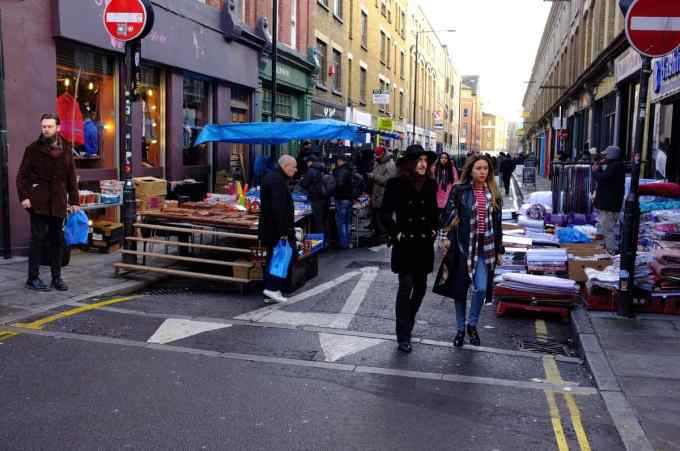 Brick Lane Flea Market - London, UK-053