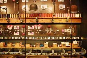 Tombées du Camion shelves full of treasures