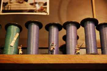 Tombées du Camion spool sewing thread