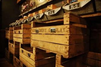 Tombées du Camion wooden crates
