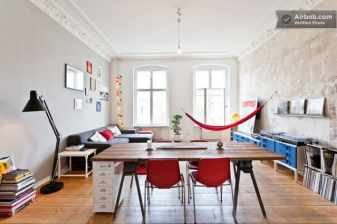 vintage airbnb appartment in Berlin