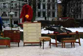 flea market Oslo - Birkelunden ©parisoslo.com