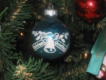 ribarnica - Vintage glass Christmas baubles