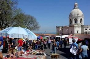 Feira da Ladra flea market Lisboa