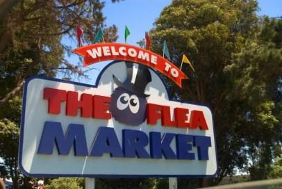 San Jose Flea Market Sign