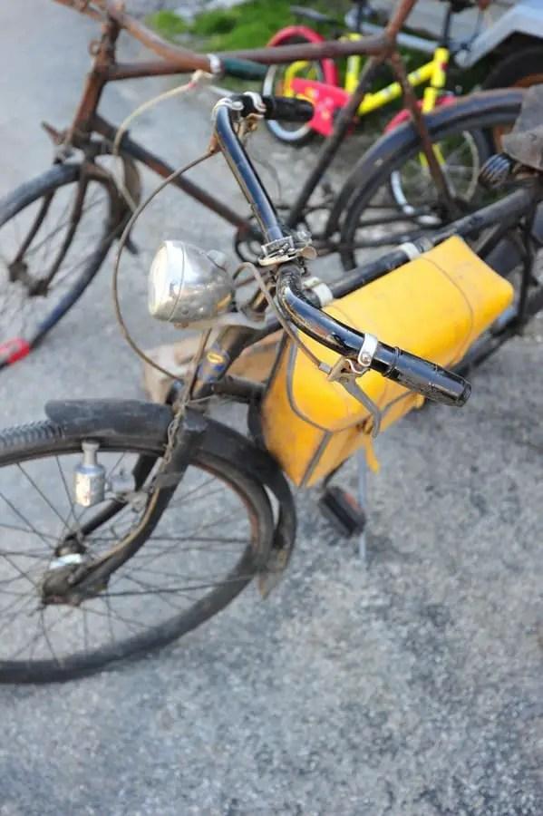 vinylmeister Yellow Bike Pack