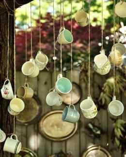 Vintage Tea Wind Chimes
