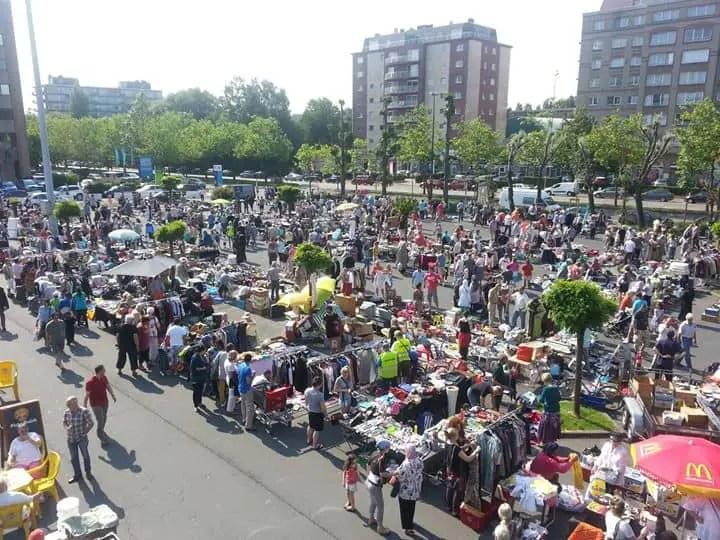 Westland Shopping flea market Anderlecht