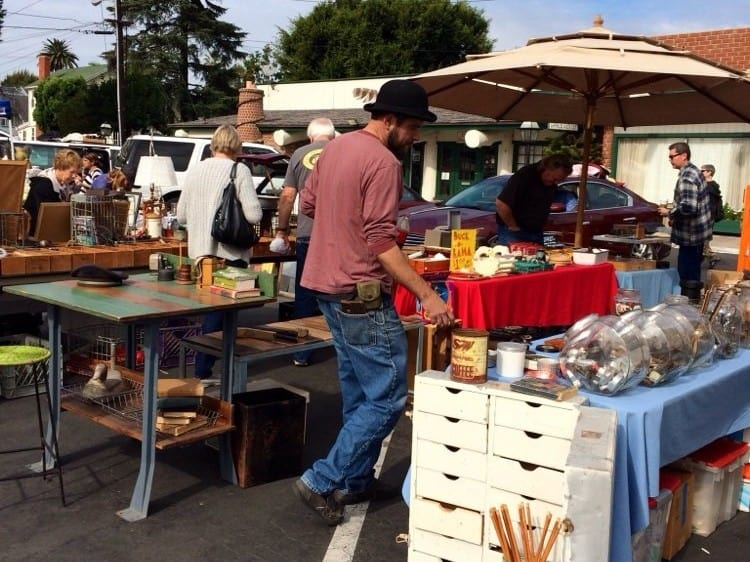 Image result for Jamestown Village Vintage Flea Market - Tustin, CA