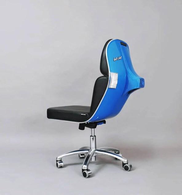 Vespa Scooter Chair by Bel&Bel-012