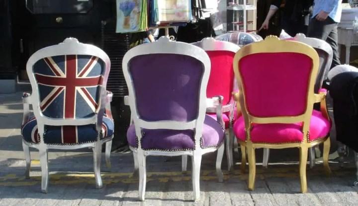 markets in London: Camden Passage