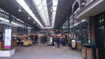 Insider the Old Spitalfields Market