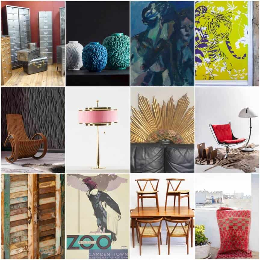 Eclectic Furnishings: ARC Eclectic: A New Design Show Mixing Modern And Vintage