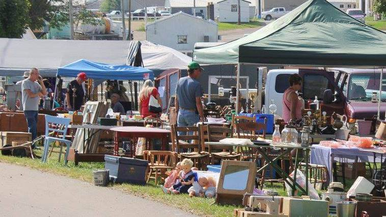 Flea Markets in Ohio: Scott Antique Market Washington Court House
