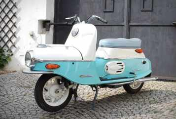 Cezeta 506 Electric Scooter - 1