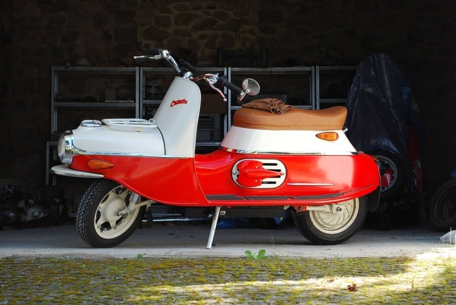 Cezeta 506 Electric Scooter - 3