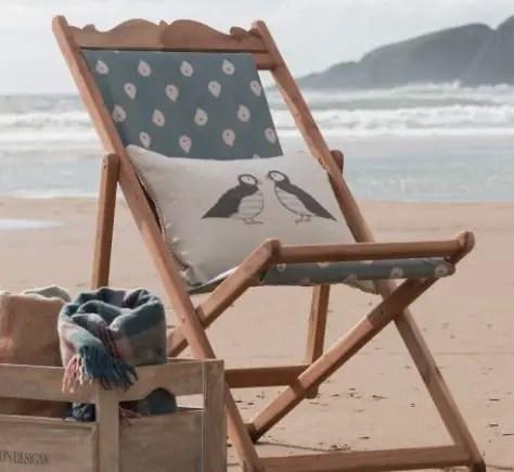 vintage deck chair 1