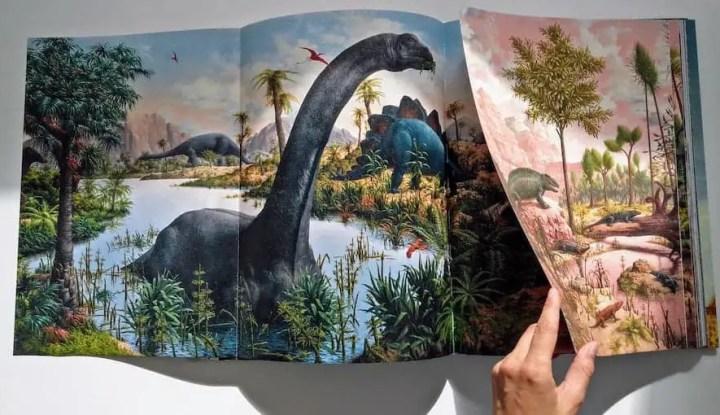 Paleoart retro dinosaur art Taschen 2
