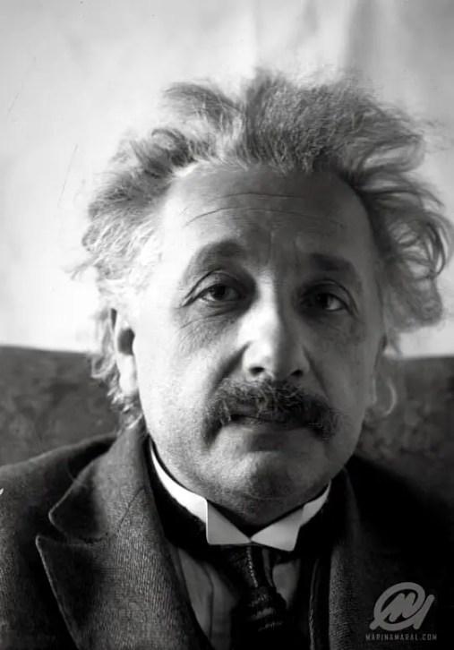 Original image: Albert Einstein. © Marina Amaral