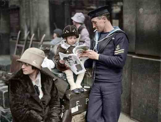 colorized photography