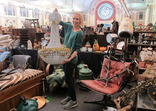 Alexandra Palace Antiques Fair © IACF
