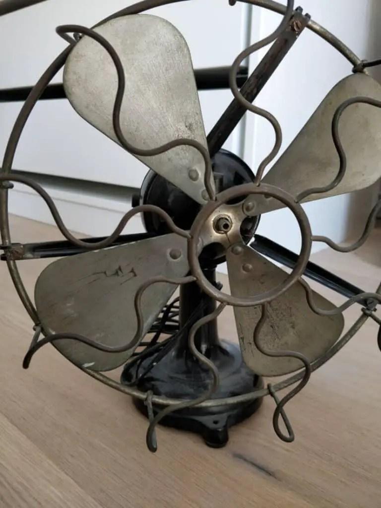 Art Deco Marelli desk fan 1