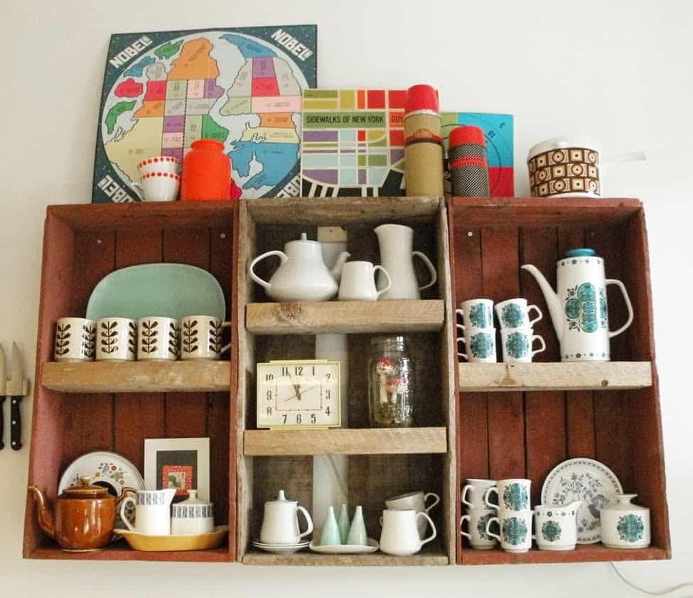 Repurpose To Spruce Up Interiors on a Budget © Coucou Salut