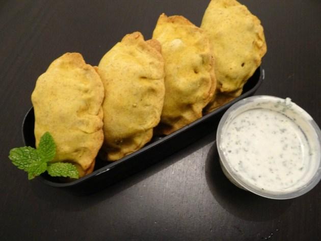 Fleanette's Kitchen - Samossas végétariens - au four, avec leur chutney menthe-coriandre