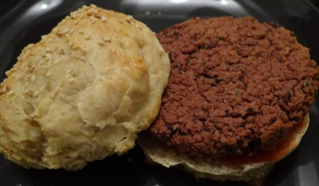 Burgers de haricots rouges - Fleanette's Kitchen