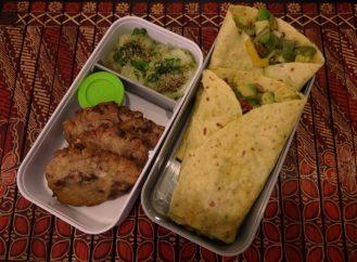 Fleanette's Kitchen - Tortillas frais avocat poivron