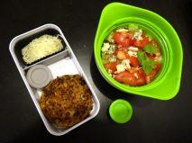Fleanette's Kitchen - Steak de légumes et salade fraiche