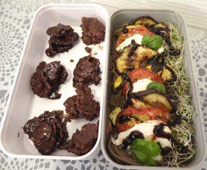 Fleanette's Kitchen - Légumes marinés sur lit de soba et roses des sables