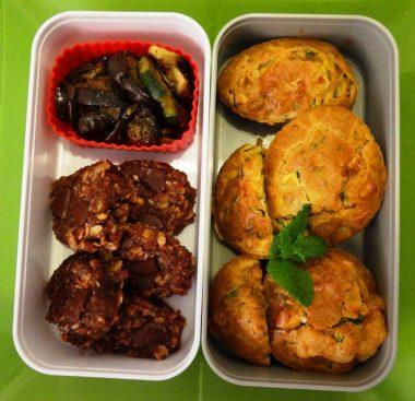 Fleanette's Kitchen - Muffin courgette-feta menthe et no bake cookies
