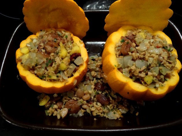 Pomarines farcies - Repas de fête - Fleanette's Kitchen
