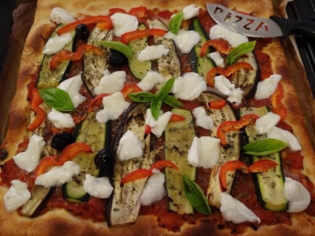 Pizza aux légumes du soleil - Fleanette's Kitchen