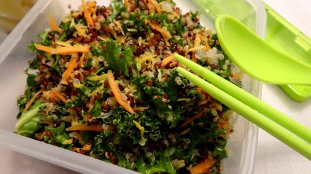 Taboulé de Quinoa et Kale - Fleanette's Kitchen